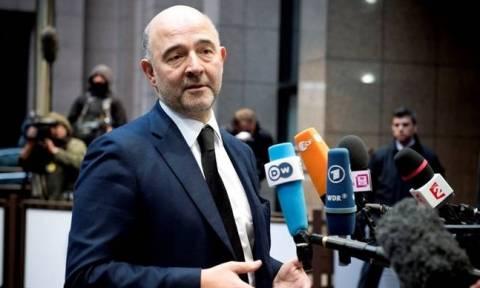 Χαμηλές προσδοκίες από τον Μοσκοβισί στο Eurogroup