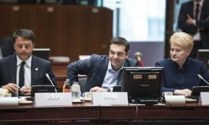 Σύνοδος Κορυφής : Αναθεώρηση της συνθήκης του Δουβλίνου έθεσε ο Τσίπρας