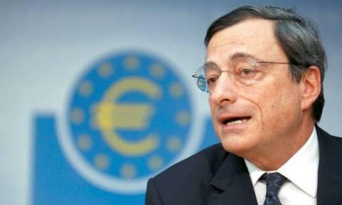 Ντράγκι: Η ΕΚΤ θα συνεχίσει να στηρίζει τις ελληνικές τράπεζες όσο είναι φερέγγυες