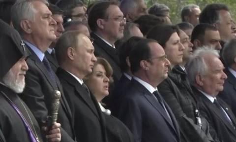Αρμενία: Φόρο τιμής απέτισε η Κωνσταντοπούλου στα θύματα της γενοκτονίας