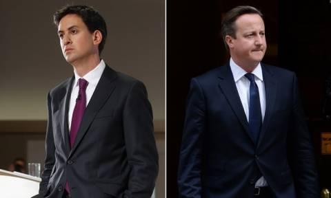 Βρετανία: Οριακό προβάδισμα του Μίλιμπαντ έναντι του Κάμερον σύμφωνα με δημοσκόπηση