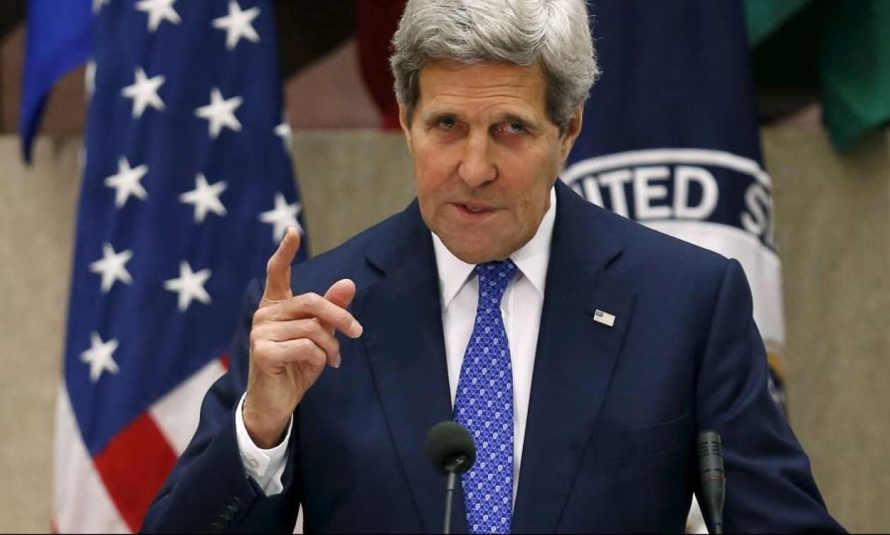 Ο Κέρι «καρφώνει» τη Ρωσία στο θέμα της εκεχειρίας