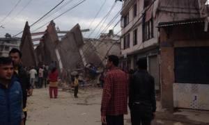 Ισχυρός σεισμός 7,9R στο Νεπάλ