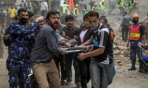 Νεπάλ: Συγκλονιστικά βίντεο από την ώρα του φονικού σεισμού!