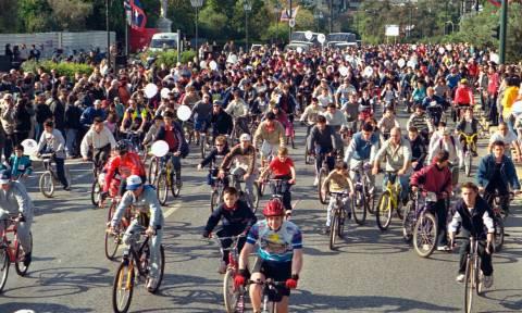 Ποδηλατικός γύρος: Κυκλοφοριακές ρυθμίσεις - Πού και πότε θα γίνουν διακοπές
