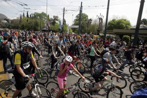 Ολοκληρώθηκε ο 22ος Ποδηλατικός Γύρος της Αθήνας