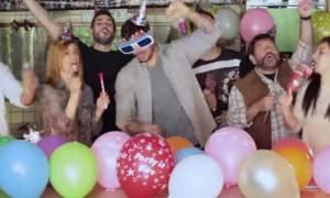 Το «τρελό» πάρτι του Πετρετζίκη!
