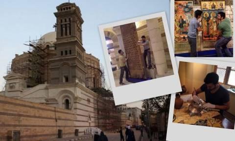 Πασίγνωστο πρώην μοντέλο συμβάλλει στην αναπαλαίωση Ιερού Ναού στο Κάιρο!