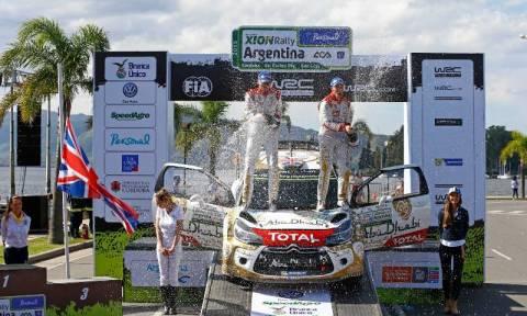 WRC: Ράλλυ Αργεντινής ο Meeke νικητής
