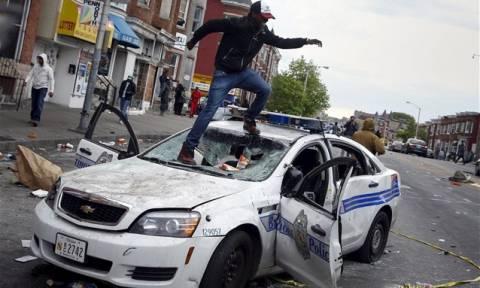 Βίαια επεισόδια στη Βαλτιμόρη