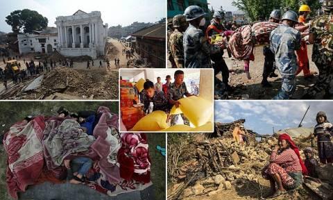 Εικόνες που σοκάρουν: Καίνε τους νεκρούς στο Νεπάλ (photos)