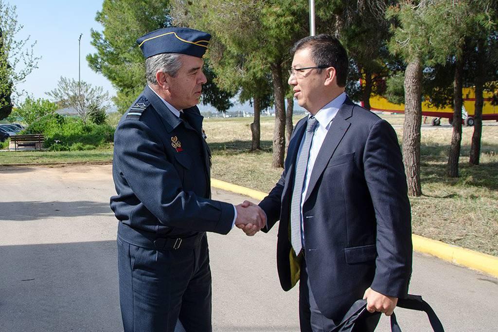 Ο Α/ΓΕΑ με τον Διευθυντή του European Aviation Safety Agency (pics)