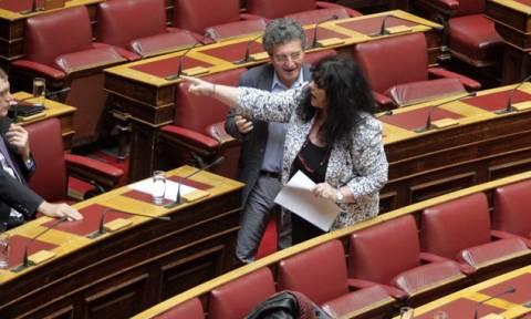 Βαγενά: Εκνευρίστηκε με τη στάση των βουλευτών του ΠΑΣΟΚ (pics)