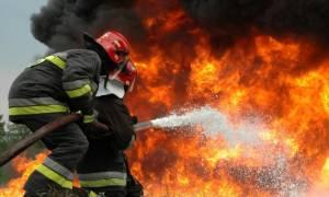 Απειλήθηκαν σπίτια από την πυρκαγιά στο Ρέθυμνο