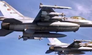 Παραβιάσεις εθνικού εναέριου χώρου από τουρκικά μαχητικά