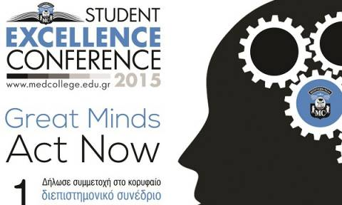 3rd Student Excellence Conference: Great Minds Act Now