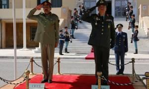 Ο Αρχηγός των Ενόπλων Δυνάμεων του Πακιστάν στο ΓΕΕΘΑ (pics)