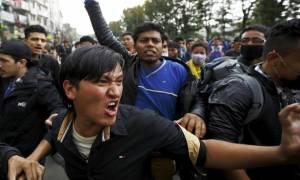 Νεπάλ: Συμπλοκές ανάμεσα σε σεισμόπληκτους και αστυνομία