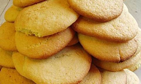 Συνταγή για μπισκότα βουτύρου με 5 υλικά!