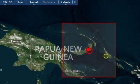 Ισχυρός σεισμός 7,1R στην Παπούα-Νέα Γουινέα