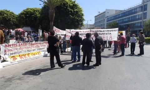 Χανιά: Με δύο συγκεντρώσεις τιμήθηκε στα Χανιά η Εργατική Πρωτομαγιά
