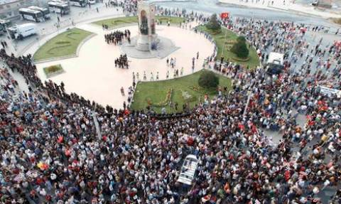 Τουρκία: Χιλιάδες αστυνομικοί απέκλεισαν την πλατεία Ταξίμ