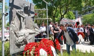 Θεσσαλονίκη: Ολοκληρώθηκαν οι πορείες των συνδικάτων για την Εργατική Πρωτομαγιά