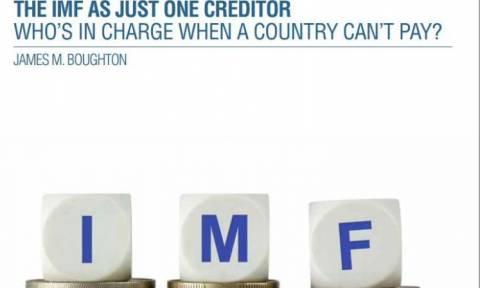 «Όποια χώρα δεν πληρώνει το ΔΝΤ να χάνει την εθνική της κυριαρχία»