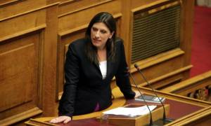 Κωνσταντοπούλου: «Σήμερα οι γερμανικές αποζημιώσεις, αύριο το χρέος»