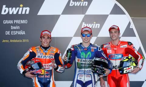 MotoGP Grand Prix Χερέθ: Ο Lorenzo στην pole πτώση ο Marquez (photos)