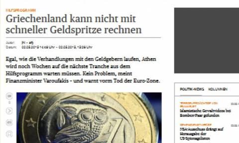 Handelsblatt: Η Αθήνα δεν θα λάβει χρήματα πριν τις 12 Μαΐου