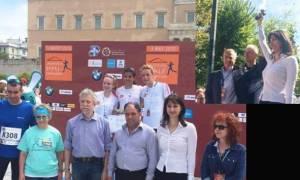 Κουντουρά: Απένειμε το χρυσό μετάλλιο στο νικητή του Ημιμαραθωνίου