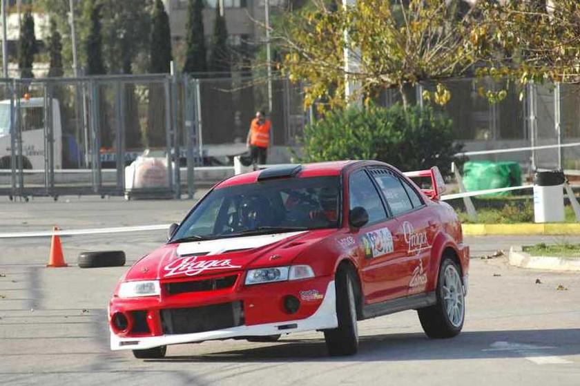 Οι νικητές του GRS 2014, Νίκος Ζάχος-Ηλίας Παναγιωτούνης (Mitsubishi Lancer EVO VI φωτ. Τάσος Αρωνίτης)