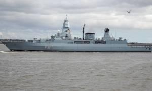 Γερμανικά πολεμικά πλοία στο λιμάνι της Σούδας