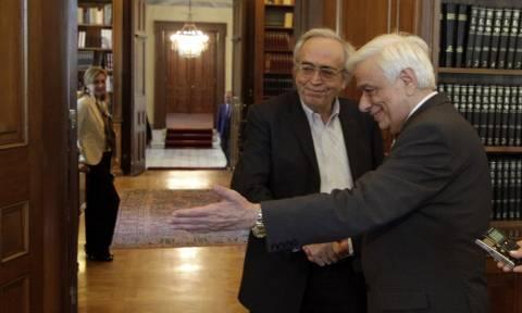 Συνάντηση Παυλόπουλου με τον υπουργό Παιδείας Α. Μπαλτά