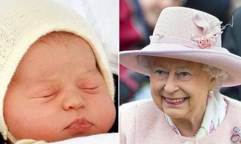Η μεγάλη συνάντηση της βασίλισσας Ελισάβετ ΙΙ με τη Σαρλότ