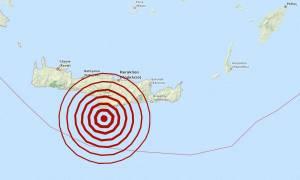 Σεισμός τώρα: 4,6 Ρίχτερ νότια της Κρήτης – Αισθητός στο Ηράκλειο