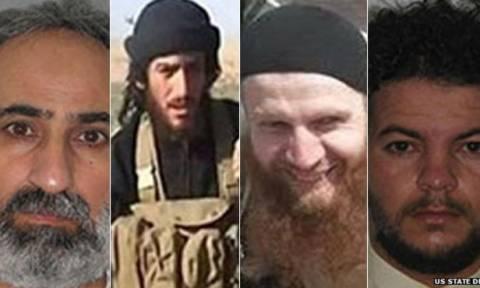 Για 20 εκατ. δολάρια επικήρυξαν οι ΗΠΑ τους ηγέτες του Ισλαμικού Κράτους