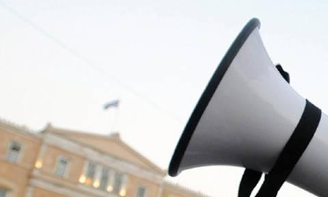 Συλλαλητήριο των καθαριστριών στο κέντρο της Αθήνας