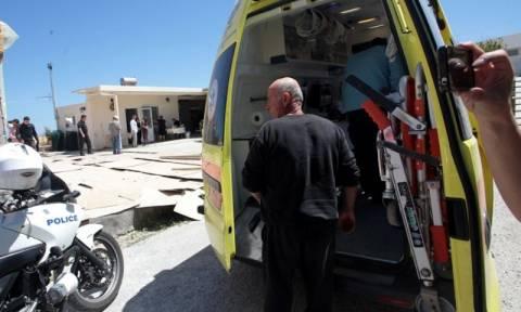 Ηράκλειο: Απεγκλωβίστηκε εργάτης από δεξαμενή