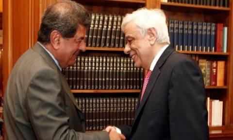 Συνάντηση του Προέδρου της Δημοκρατίας με τον Λ. Ζαγορίτη