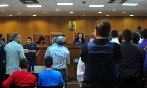 Διεκόπη για τις 12 Μαΐου η δίκη της Χρυσής Αυγής