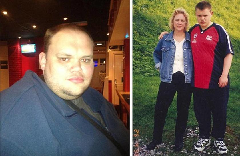 Ο άνδρας που ζυγίζει 413 κιλά - Δείτε πώς ήταν και πώς έγινε (photos)