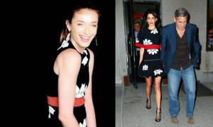 Ζυγούλη Vs Alamuddin: Με το ίδιο φόρεμα με διαφορά λίγων ημερών!