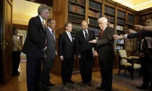 Συνάντηση Παυλόπουλου με την Ένωση Διμερών Ελληνοευρωπαϊκών Εμπορικών Επιμελητηρίων