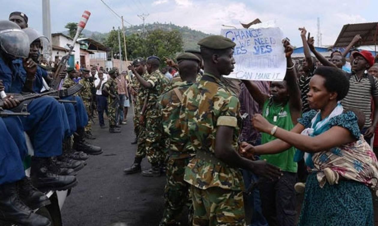 Μπουρούντι: Έκαψαν ζωντανό άνδρα κατά τη διάρκεια διαδηλώσεων