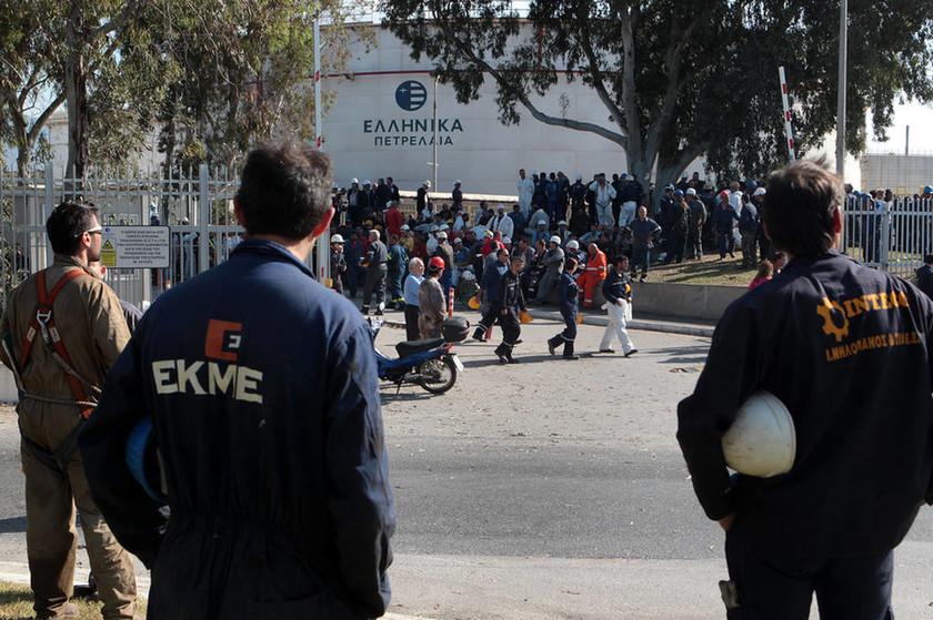 Έξι τραυματίες από την πυρκαγιά στα διυλιστήρια Ασπροπύργου