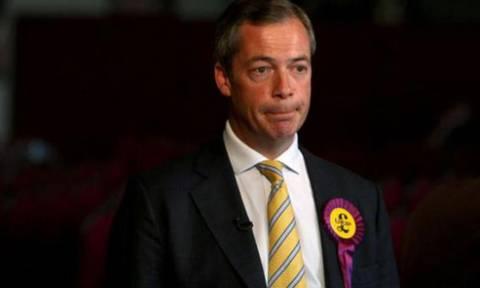 Εκλογές Βρετανία: Παραιτήθηκε από την ηγεσία του UKIP ο Νάιτζελ Φάρατζ