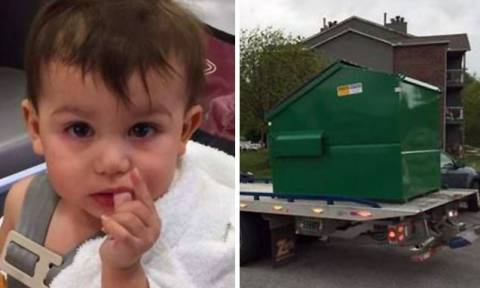 Γονείς πέταξαν το παιδί τους σε κάδο απορριμμάτων