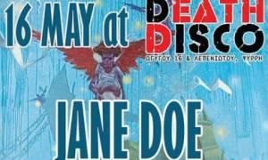 Jane Doe και Black Circus live στο Death Disco
